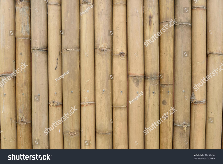 Bamboo trunk wall | EZ Canvas