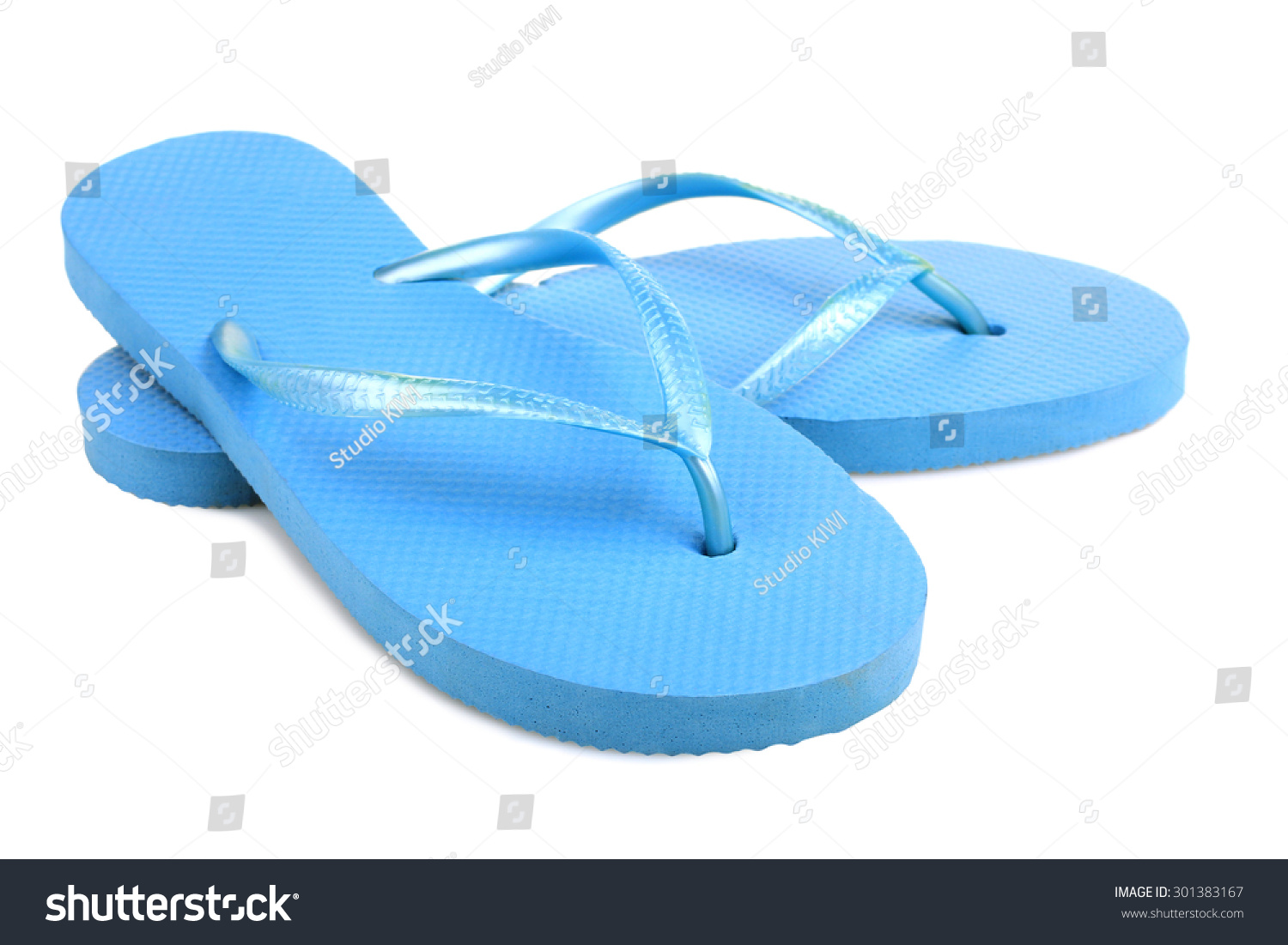 dd1999599b6 Rubber embed with plastic sandal or slipper product with black and yellow  stripes isolated on white