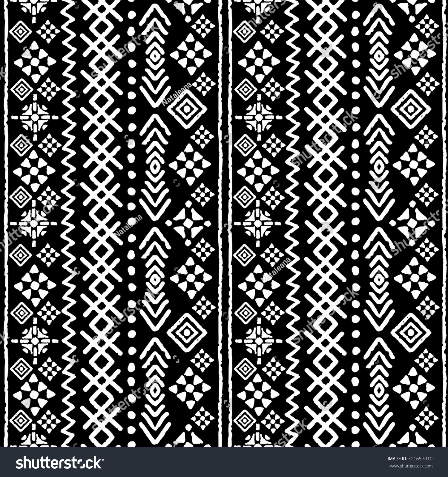 100 Tribal Arrows Boho Seamless Pattern Watercolor Boho