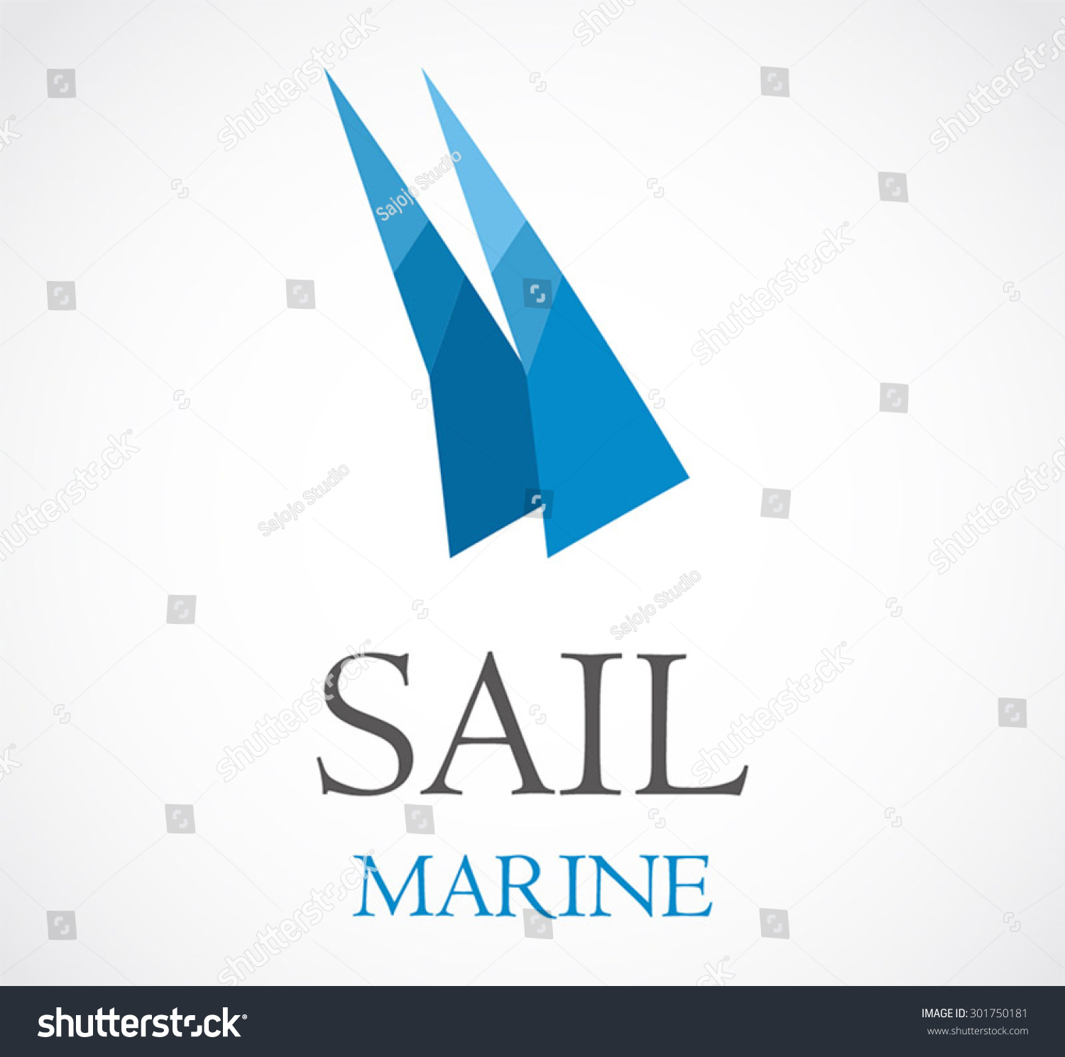 Sail marine blue ocean abstract vector stock vector 301750181 sail marine blue ocean abstract vector logo design template sea business icon ship company or corporate pronofoot35fo Choice Image