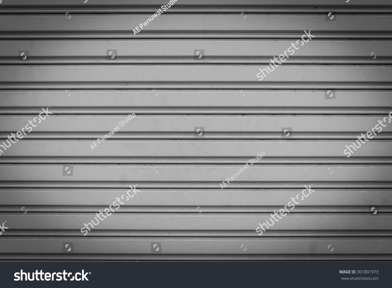 Sliding Metal Door Texture