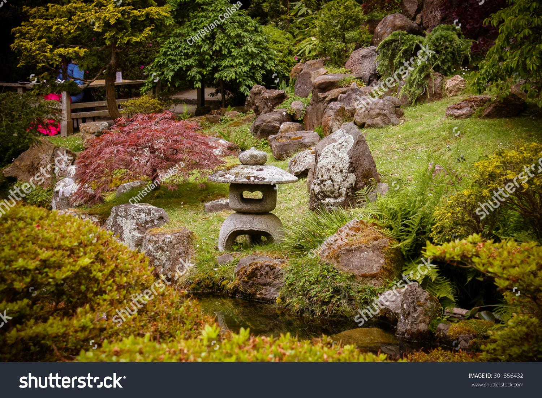Japanese Tea Garden San Francisco Stock Photo (Royalty Free ...