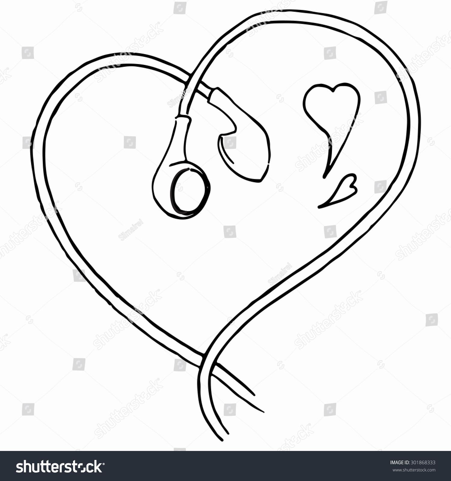 Line Drawing Ear : Image gallery earphones drawing