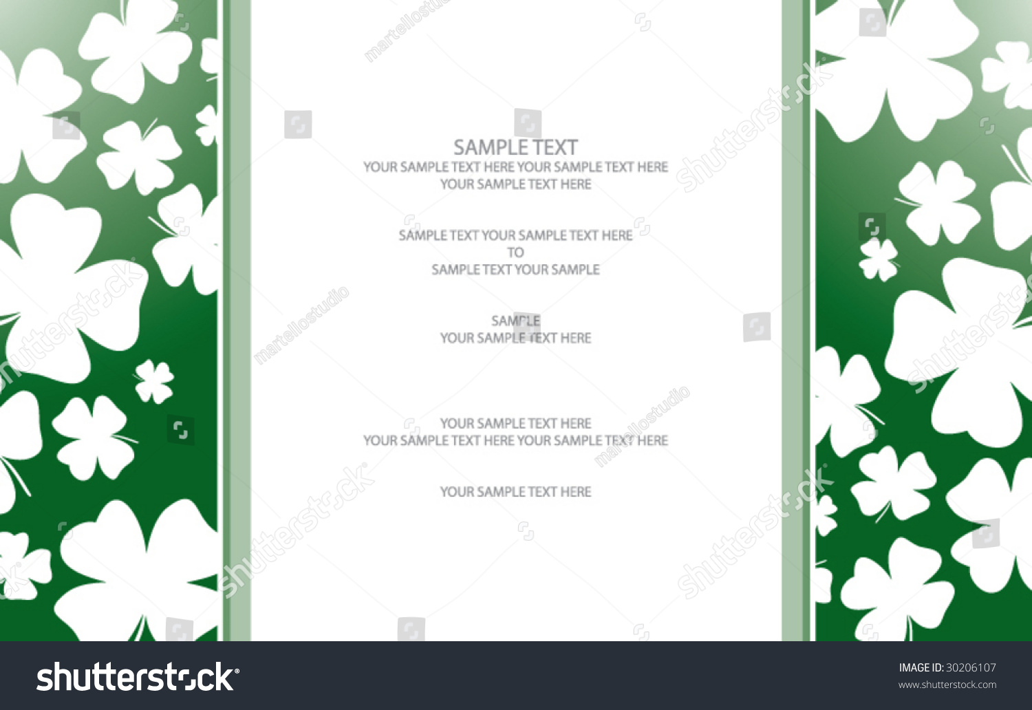 Famous 1 Inch Circle Template Thin 1 Round Label Template Regular 1.5 Inch Hexagon Template 10 Off Coupon Template Youthful 12 Team Schedule Template Bright15 Year Old Resume Template Four Leaf Clover Card Invitation Template Stock Vector 30206107 ..