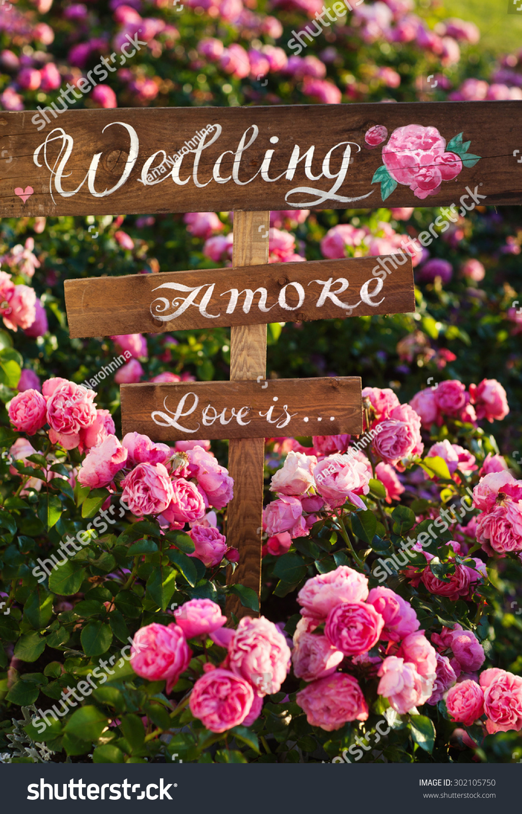 Written On Label Word Love Flowers Stock Photo (Royalty Free ...