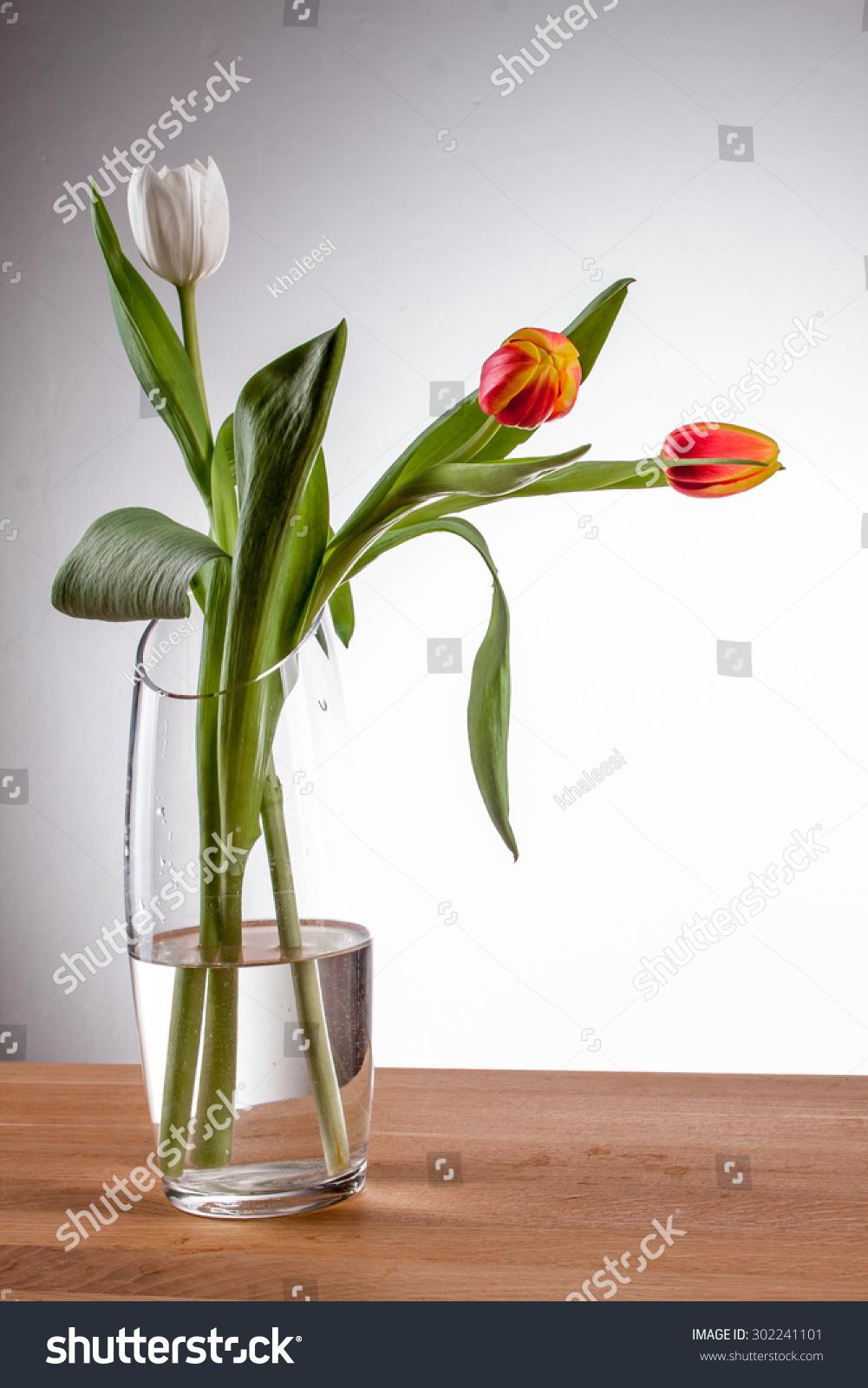 Tulip in vase gallery vases design picture tulip vase red tulip vase on stock photo 302241101 shutterstock tulip in a vase red tulip reviewsmspy