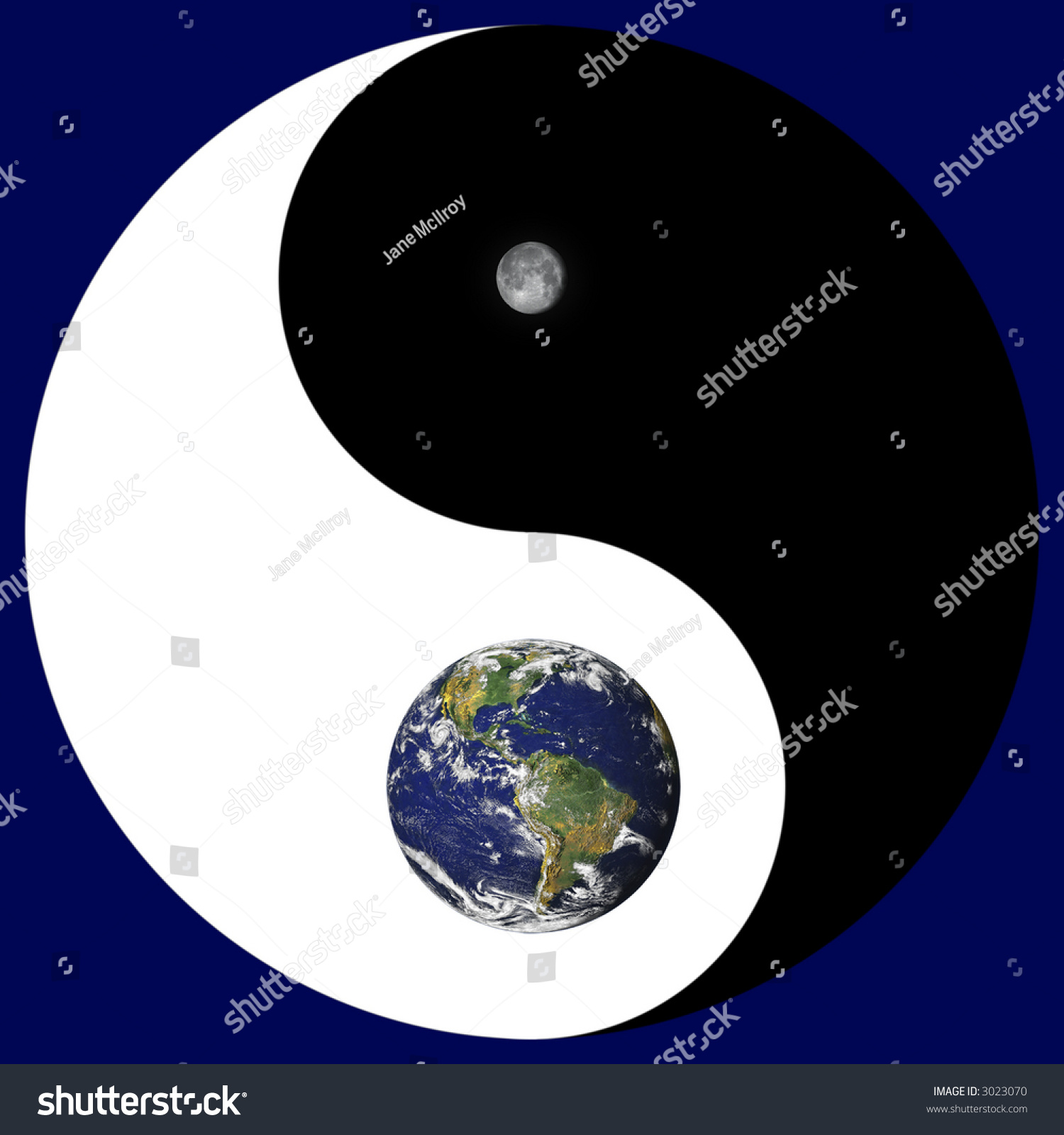Ancient Symbol Yin Yang Combined Nasa Stock Illustration 3023070 Electric Barbed Wire Free Photo Public Domain Pictures Of And With Images Earth Moon