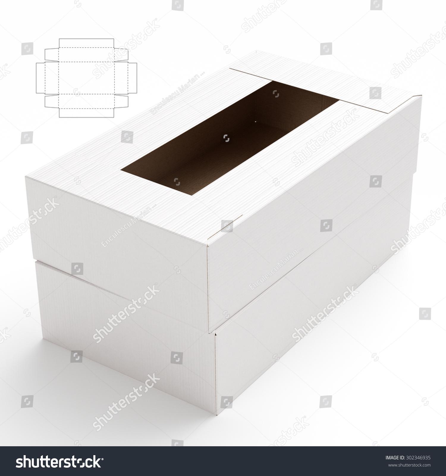 Storage box with Blueprint Template  sc 1 st  Shutterstock & Storage Box Blueprint Template Stock Illustration 302346935 ...