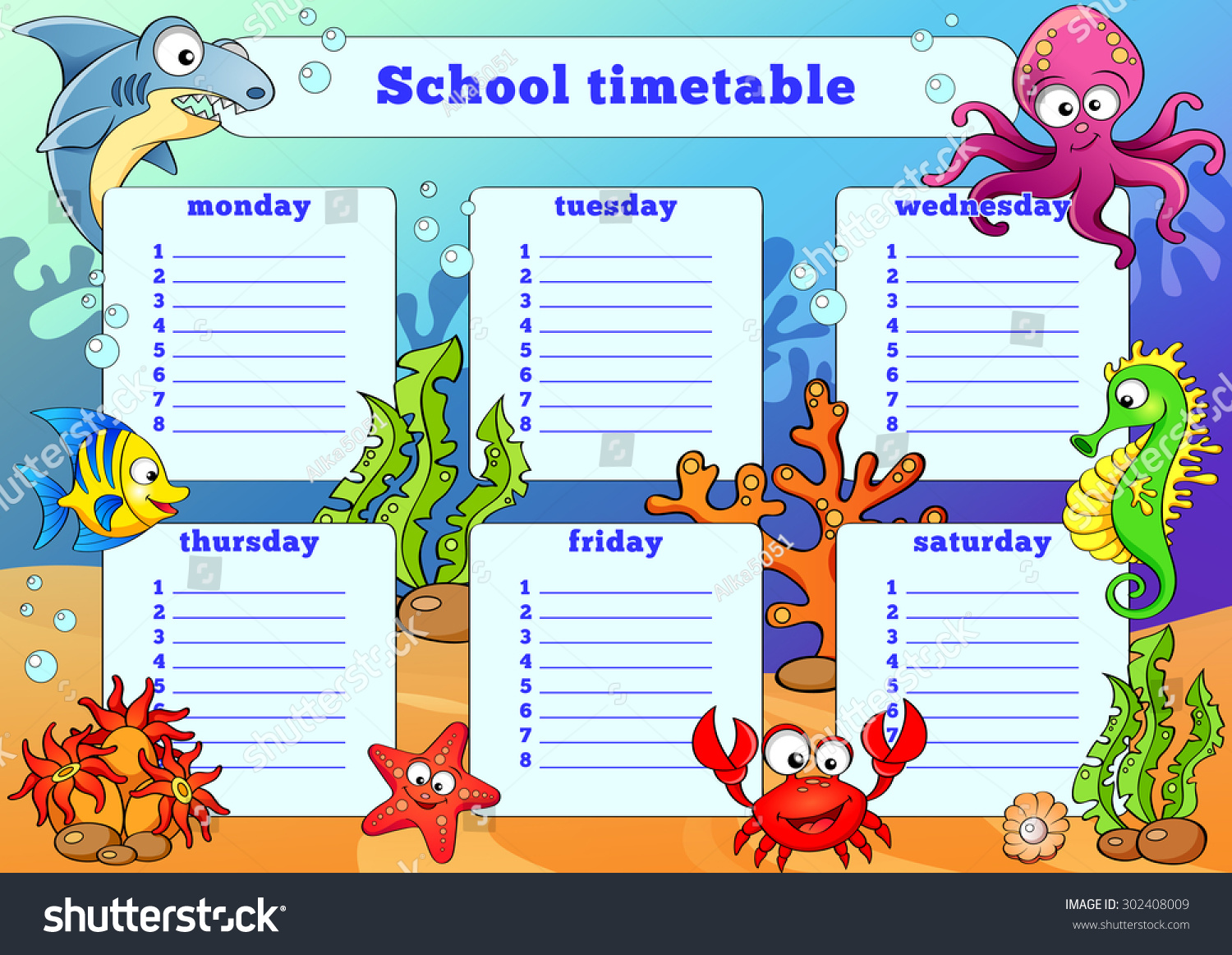 Minimalist Classroom Zelda ~ Time table designs for classroom times chart new