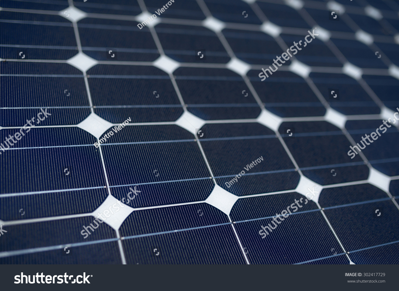 Texture Tilted Blue Solar Panels Stock Photo 302417729 ...