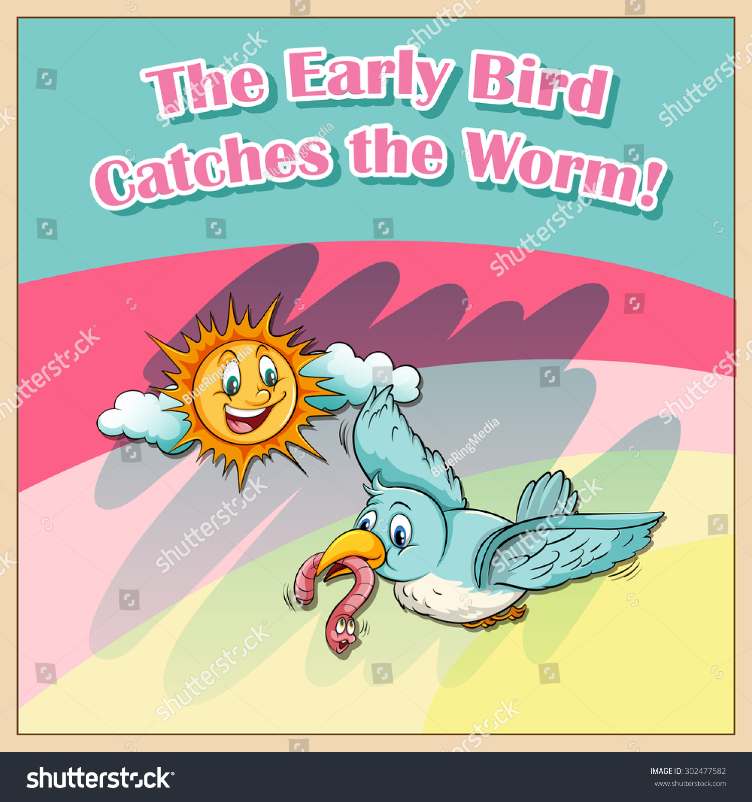 The meaning and origin of the expression: The early bird catches the worm