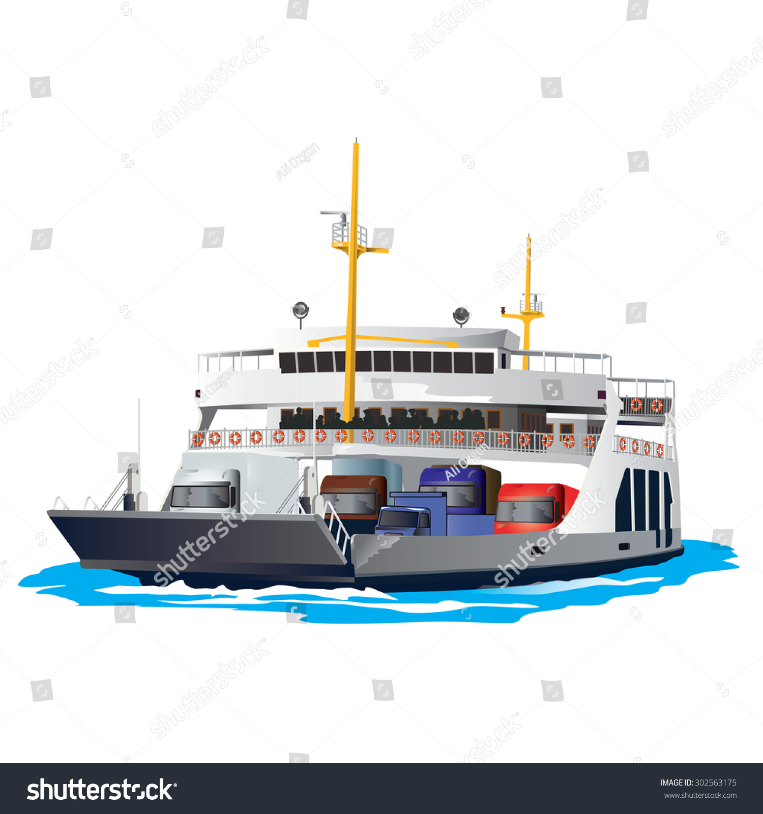 clipart ferry boat - photo #31