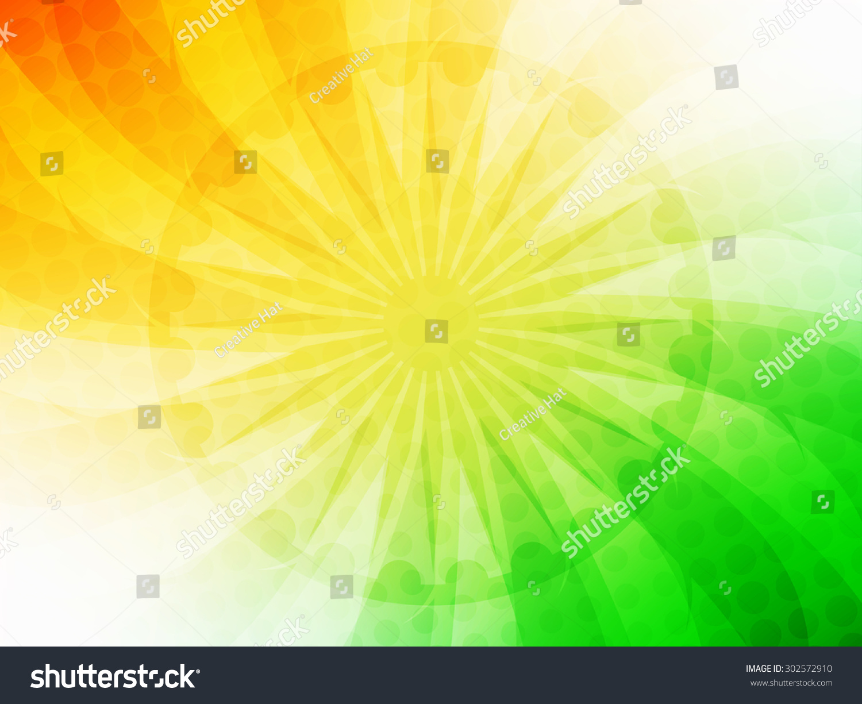 India Flag Theme: Beautiful Indian Flag Theme Vector Background Design