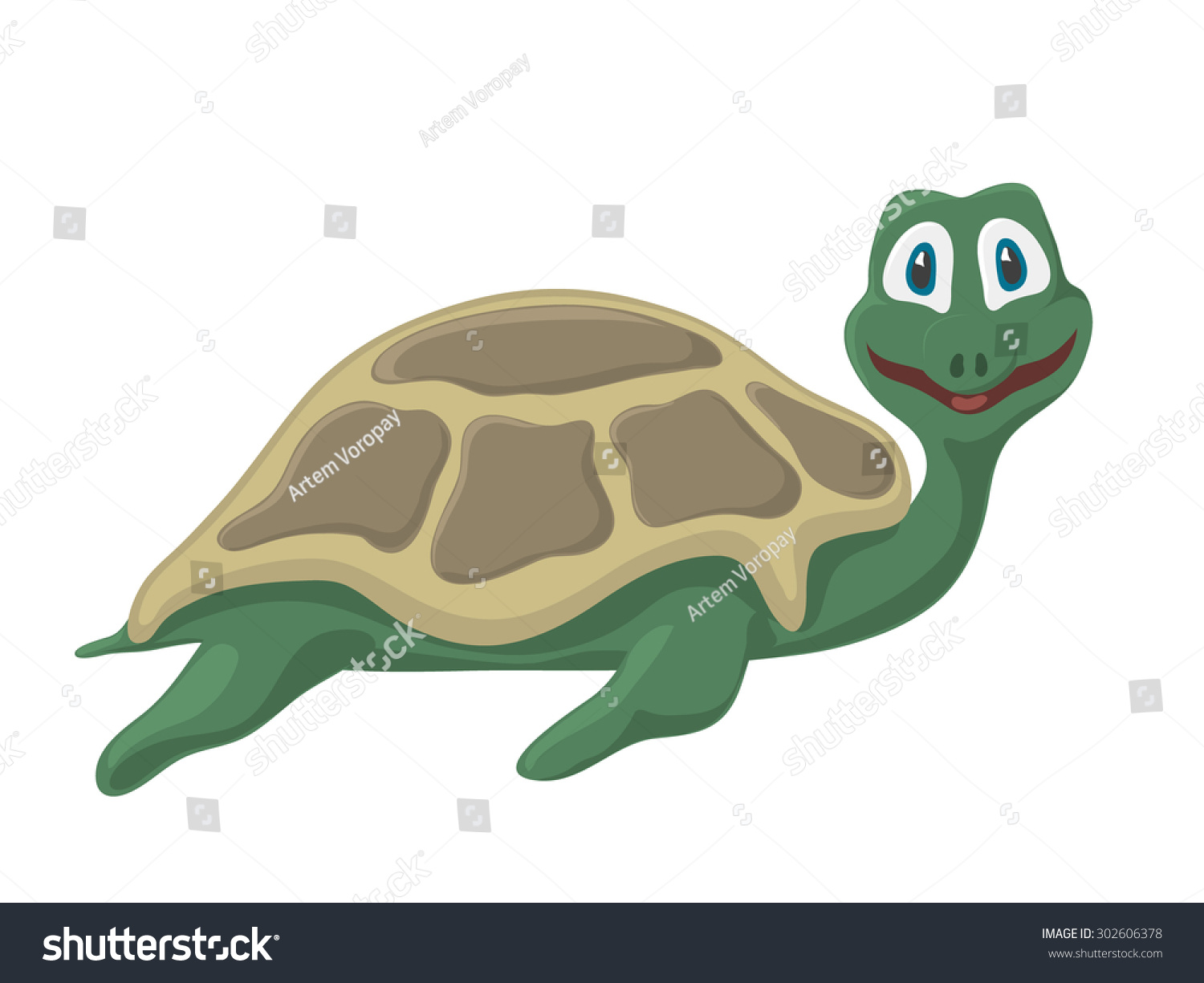 Funny cartoon turtle pictures