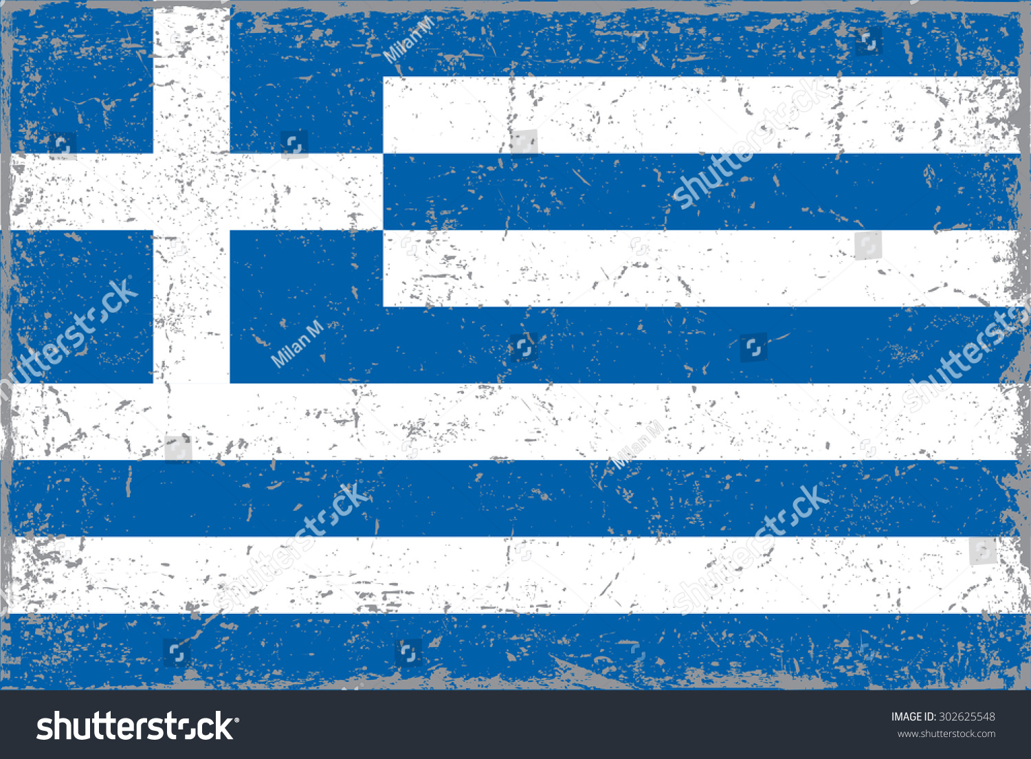 Grunge greece flaggreek flag grunge texturevector stock for Greek flag template