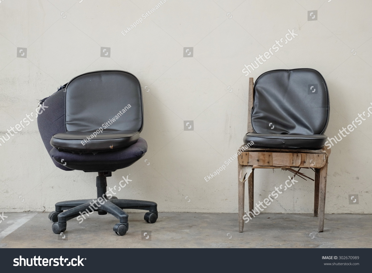 Two Handicapped Chairs Stock Photo 302670989 - Shutterstock