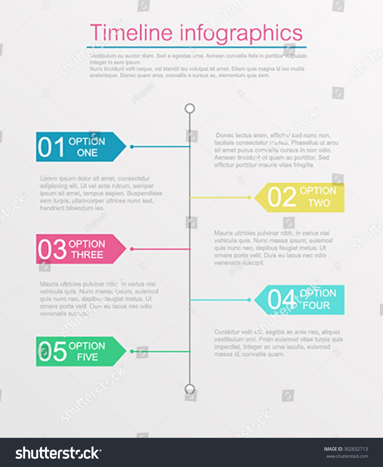 template infogrà fico timeline timeline timeline design templates