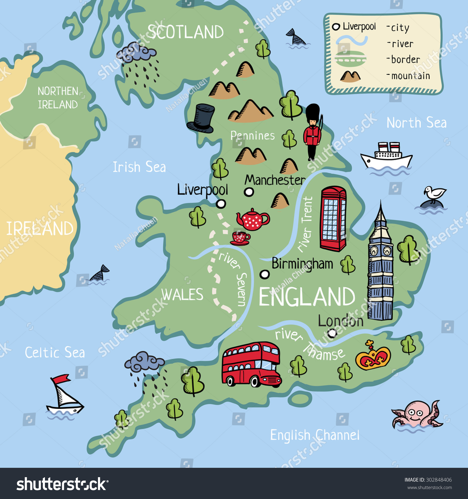 Map Of England For Children London Map - England map