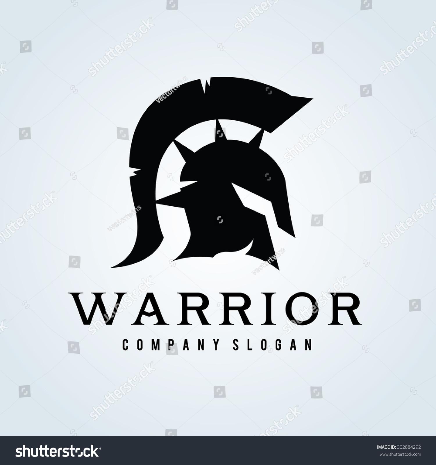 warrior logorock logoarmy logogame game logovector stock vector 302884292 shutterstock. Black Bedroom Furniture Sets. Home Design Ideas