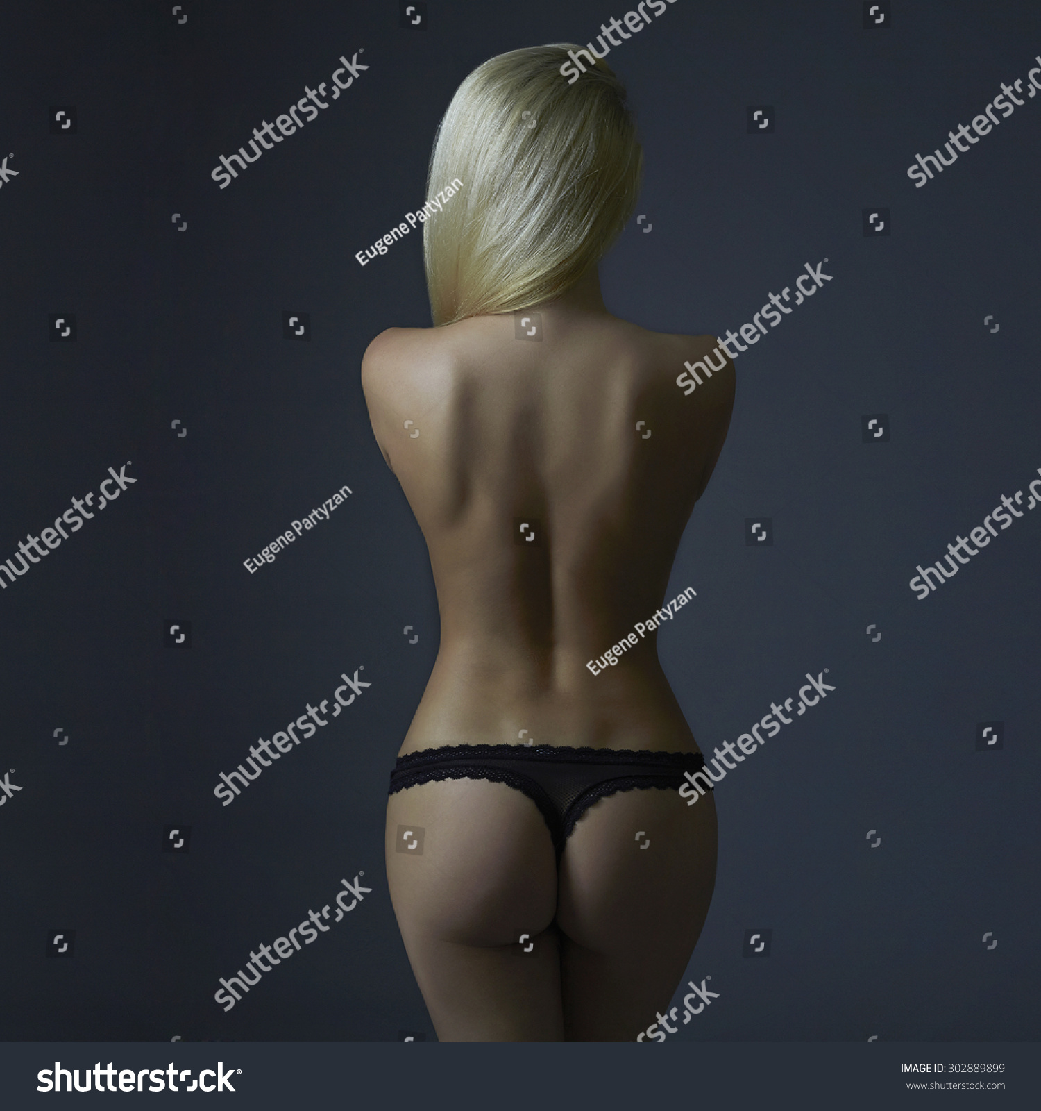 Sexy naked women back