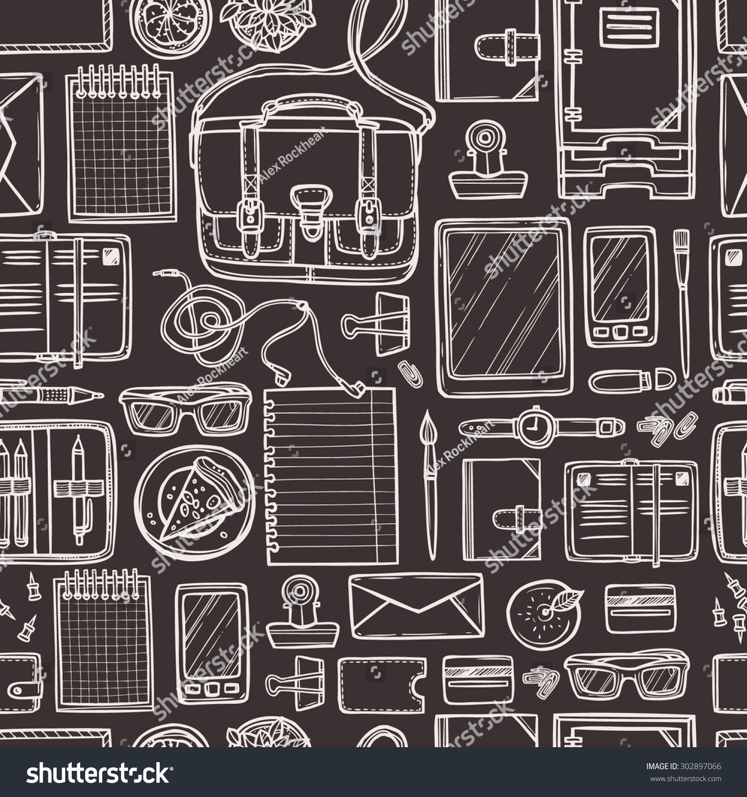 school education seamless pattern sketch doodle stock vector hd