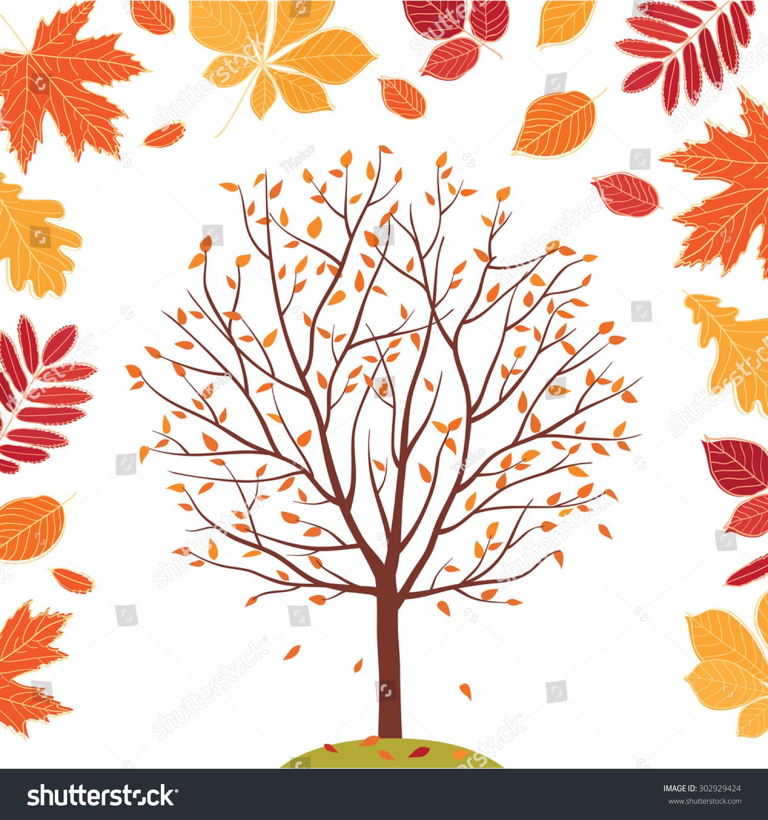 autumn fall tree backgrounds - photo #38
