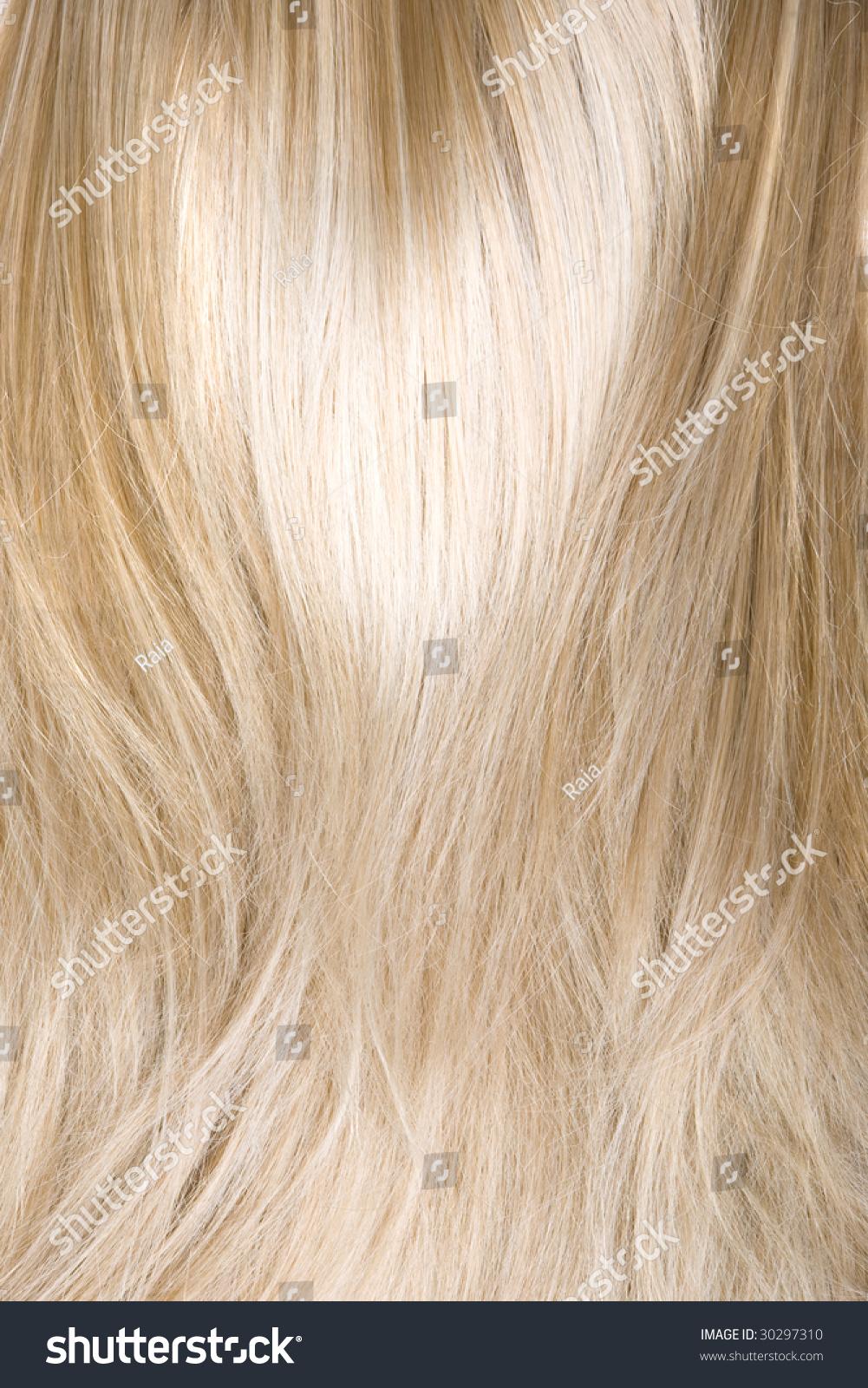 Beautiful Shiny Healthy Hair Texture Stock Photo 30297310 ...