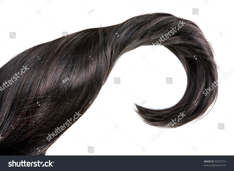 Beautiful Shiny Healthy Hair Texture Stock Photo 30297313 ...