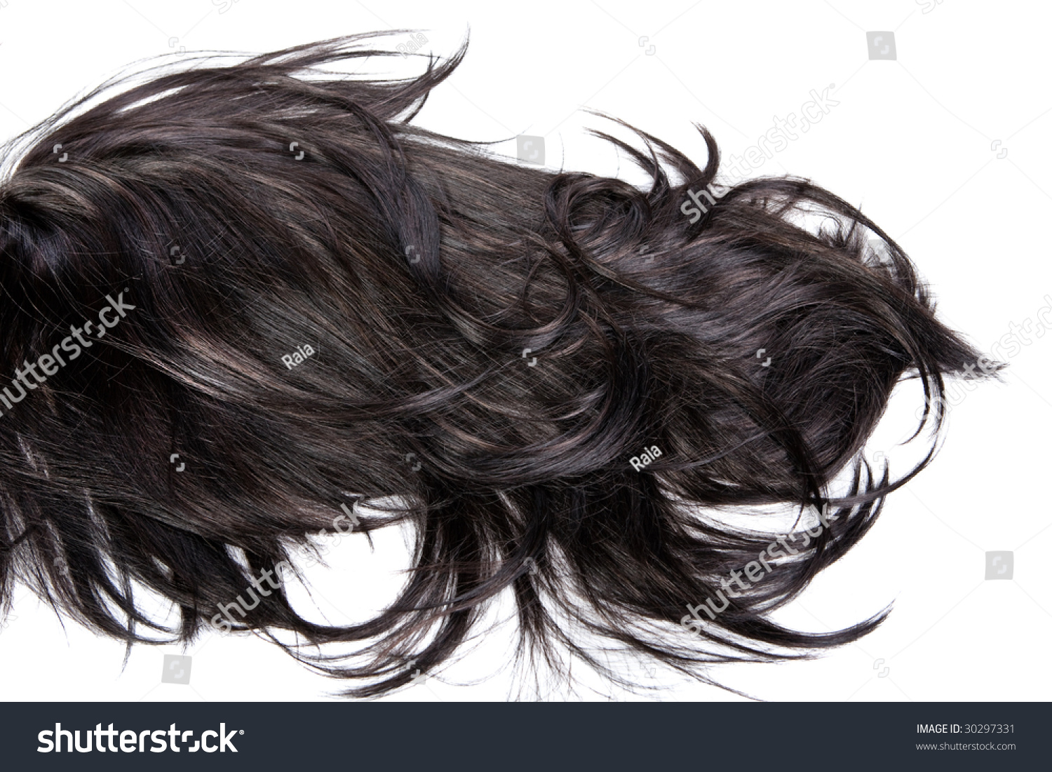 Beautiful Shiny Healthy Hair Texture Stock Photo 30297331 ...