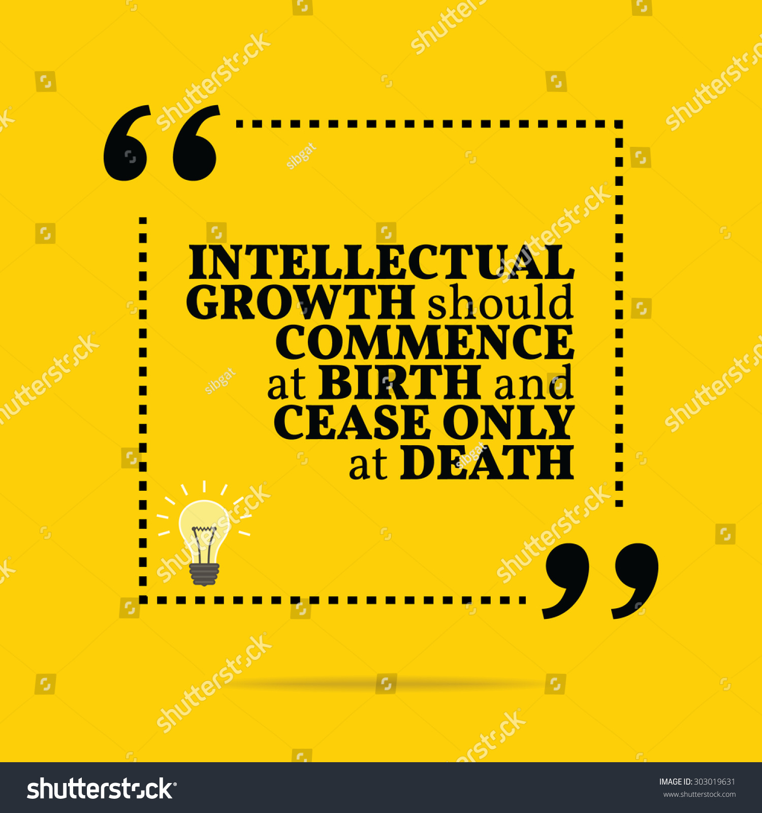 Intellectual Quotes Motivational: Inspirational Motivational Quote. Intellectual Growth
