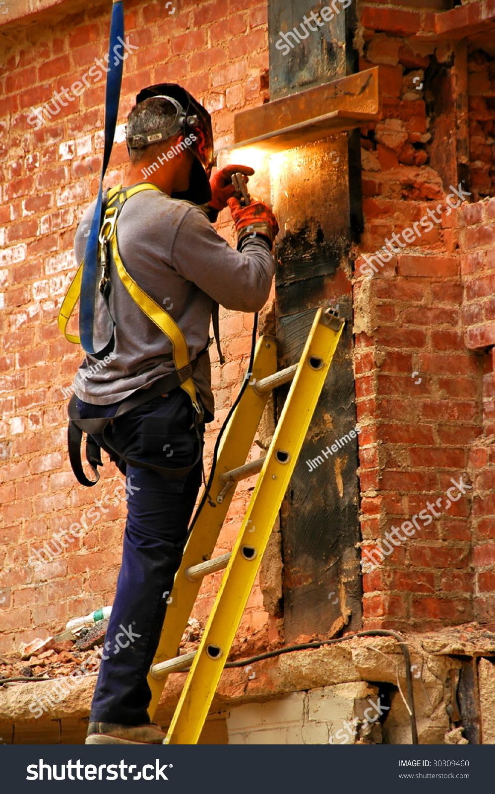Man Welding Stock Photo 30309460 Shutterstock