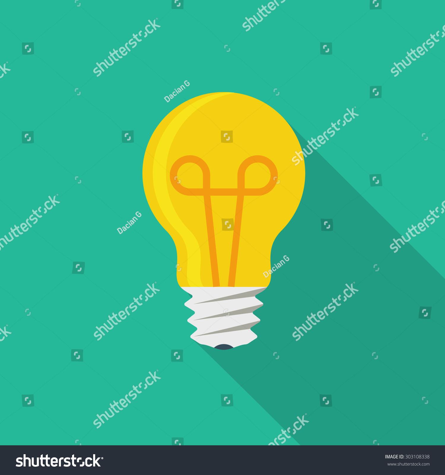 Light Bulb Icon Stock Vector 303108338