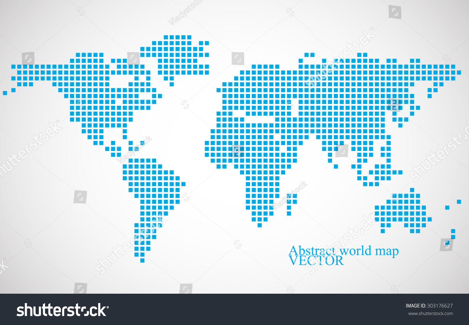 Abstract world map colorful pixel background stock vector 303176627 abstract world map colorful pixel background stock vector 303176627 shutterstock gumiabroncs Images