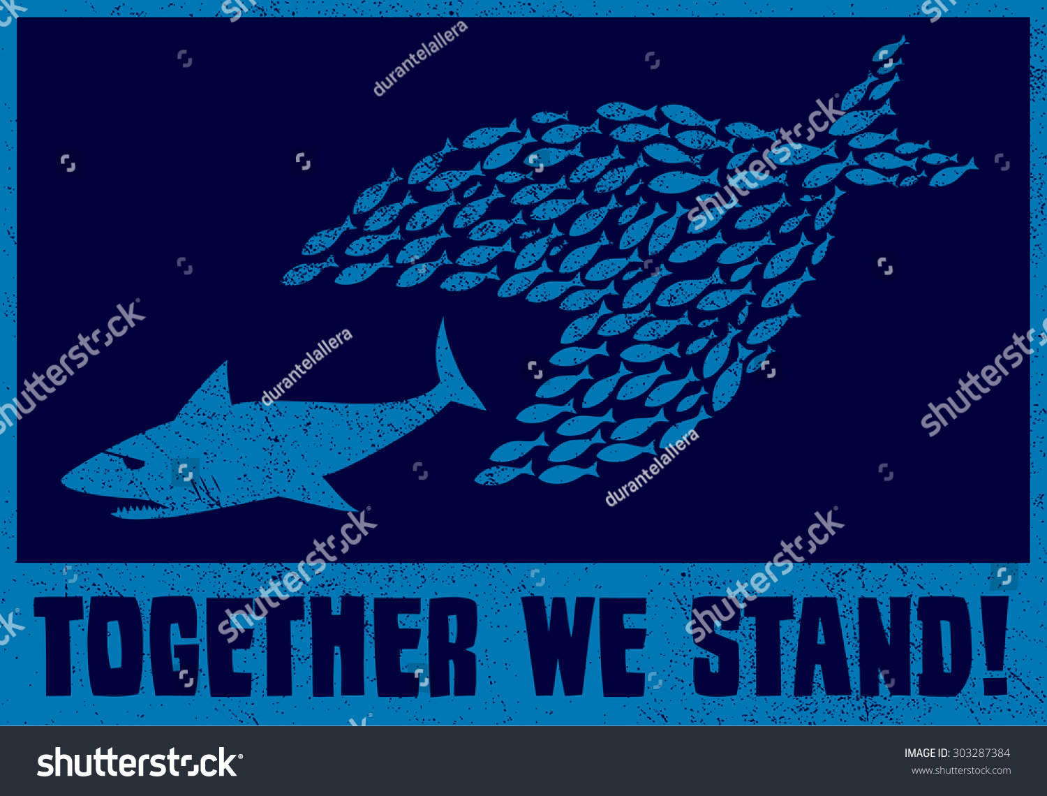 United We Stand Teamwork Collaboration Concept Stock