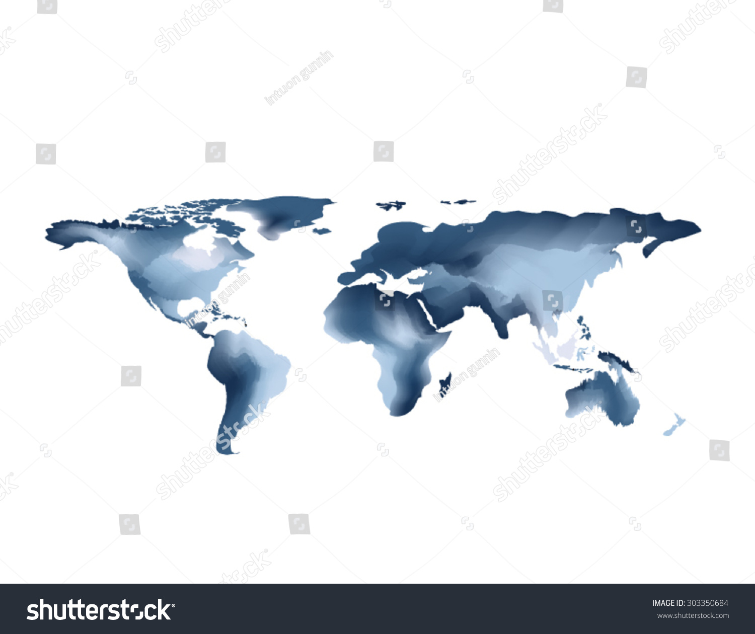 World map abstract background water color stock vector 303350684 world map abstract background water color stock vector 303350684 shutterstock gumiabroncs Gallery