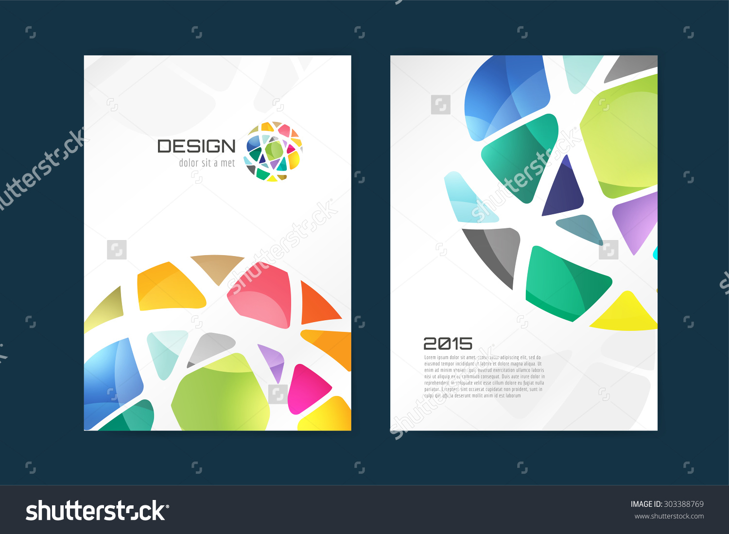 Vector globe brochure template Brochure design Abstract flyer template design and creative magazine idea blank book cover or banner template paper journal Stock illustration
