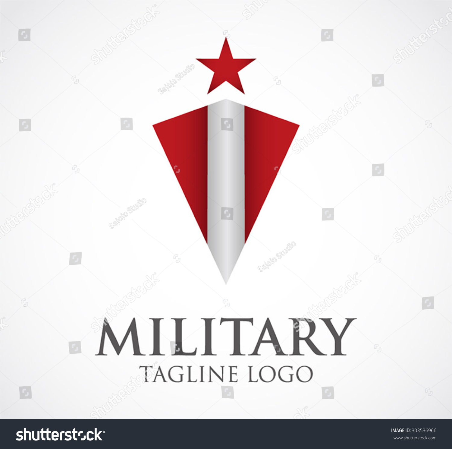 military shield star protection abstract vector logo design template business guard icon army. Black Bedroom Furniture Sets. Home Design Ideas