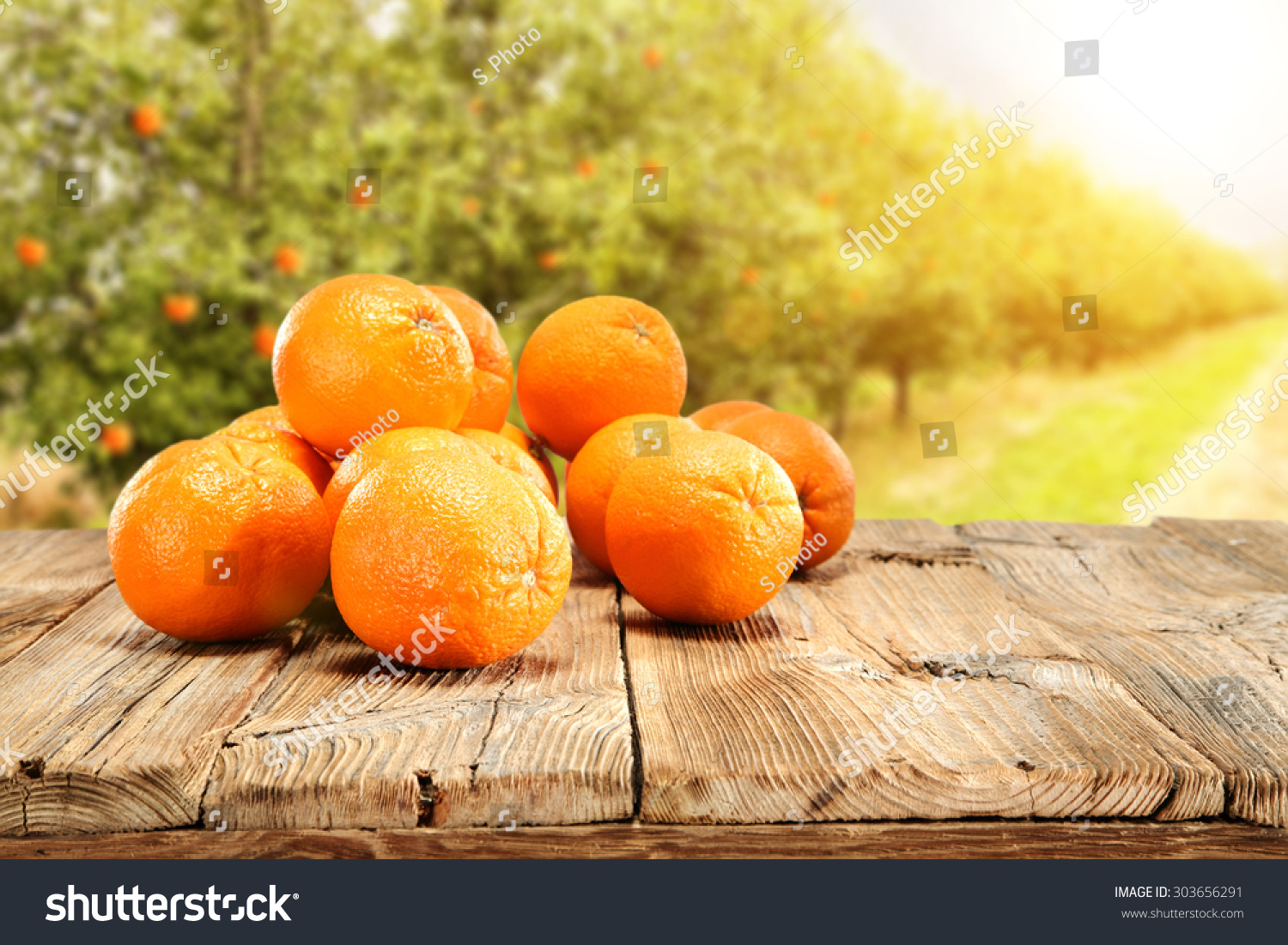 Table orange fruits your decoration stock photo 303656291 for Fruit orange decoration