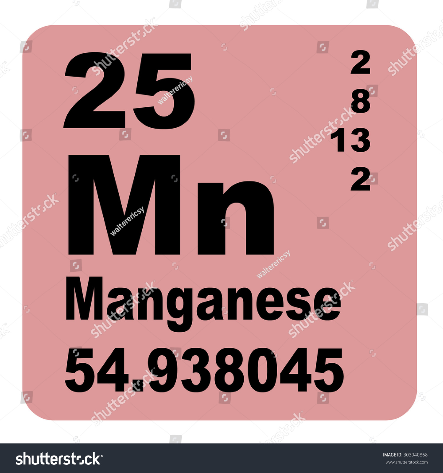 Manganese periodic table elements stock illustration 303940868 manganese periodic table of elements gamestrikefo Image collections