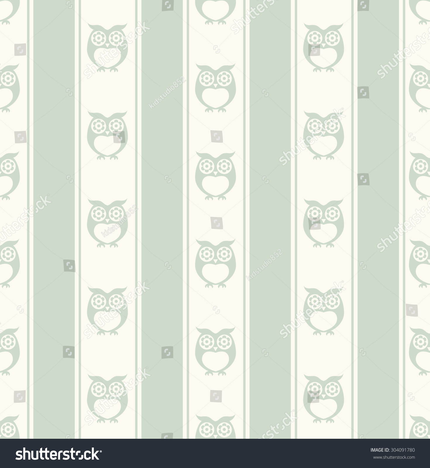 seamless owls wallpaper background pattern