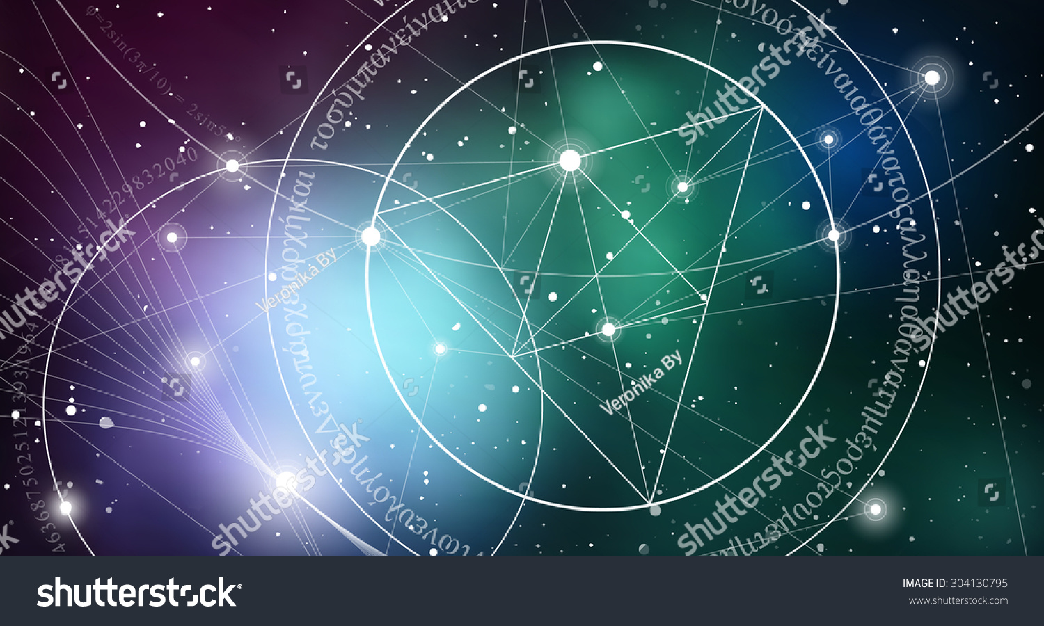 Mathematical symbols digits space formula nature stock vector mathematical symbols and digits in space the formula of nature greek letters there biocorpaavc