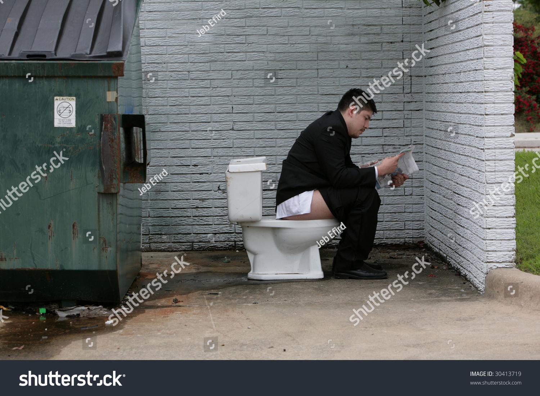 Мучиться, страдать, находясь в туалете — к назначению на должность.