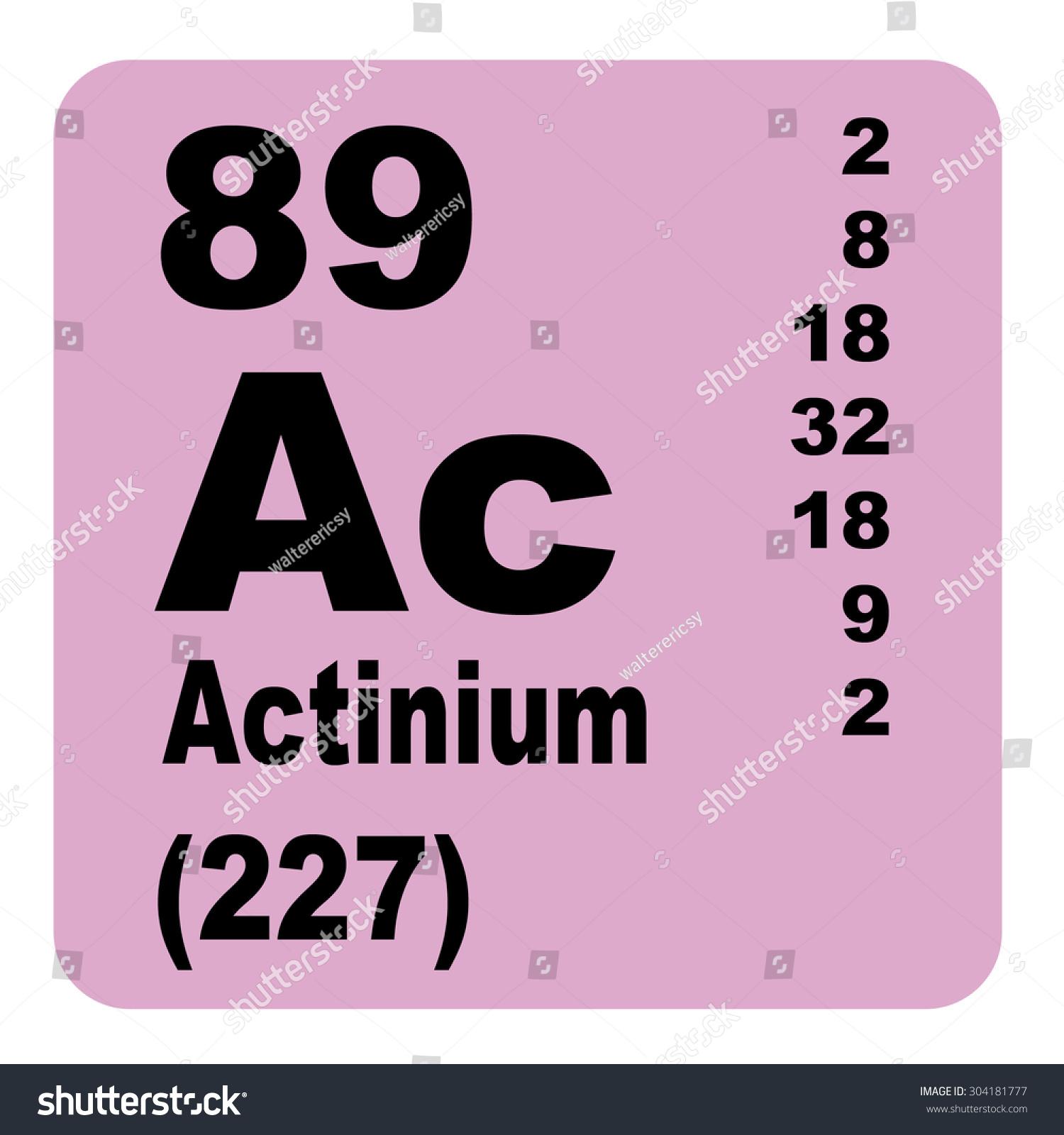 Actinium periodic table elements stock illustration 304181777 actinium periodic table of elements gamestrikefo Choice Image