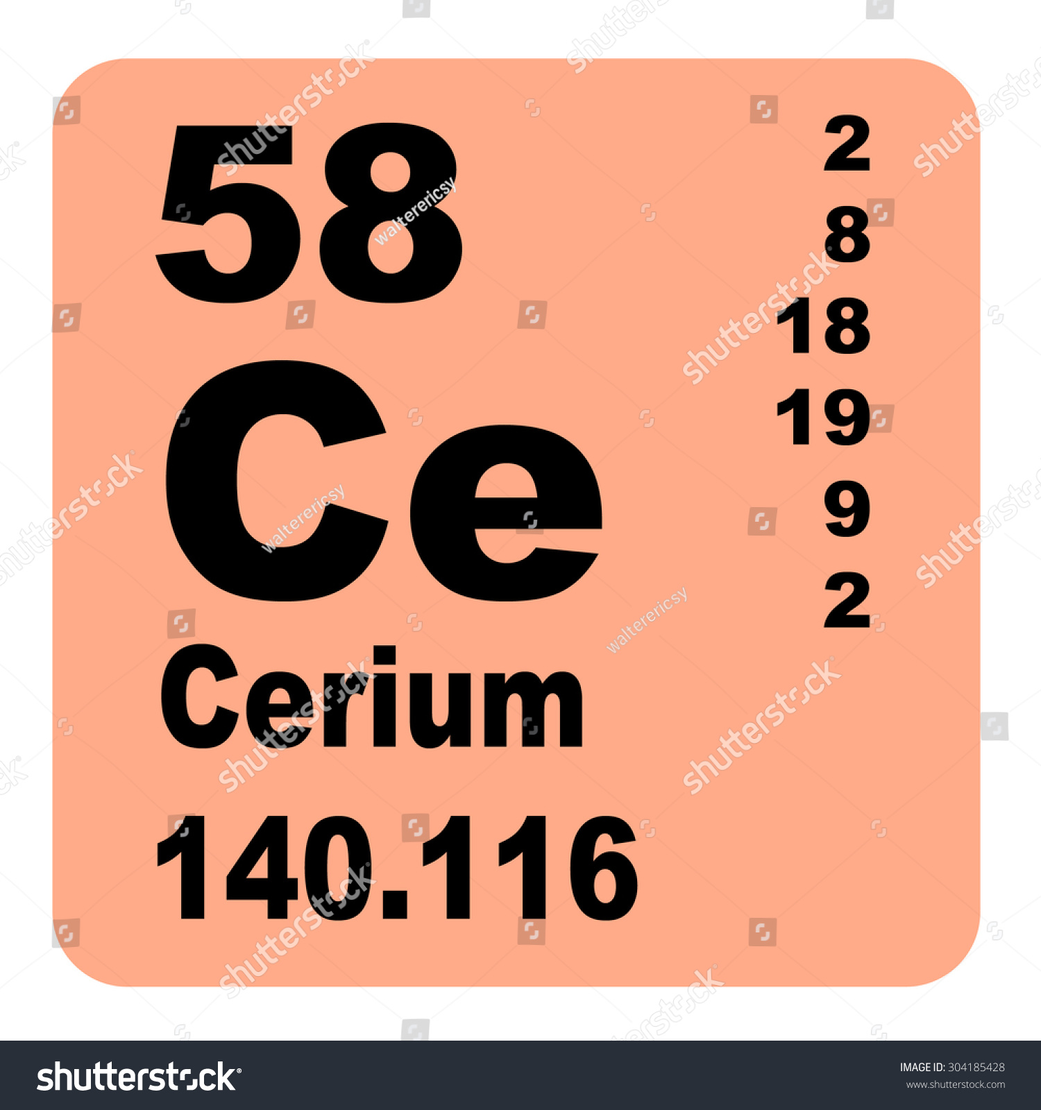 Periodic table of elements tin images periodic table images cerium periodic table elements stock illustration 304185428 cerium periodic table of elements gamestrikefo images gamestrikefo Choice Image