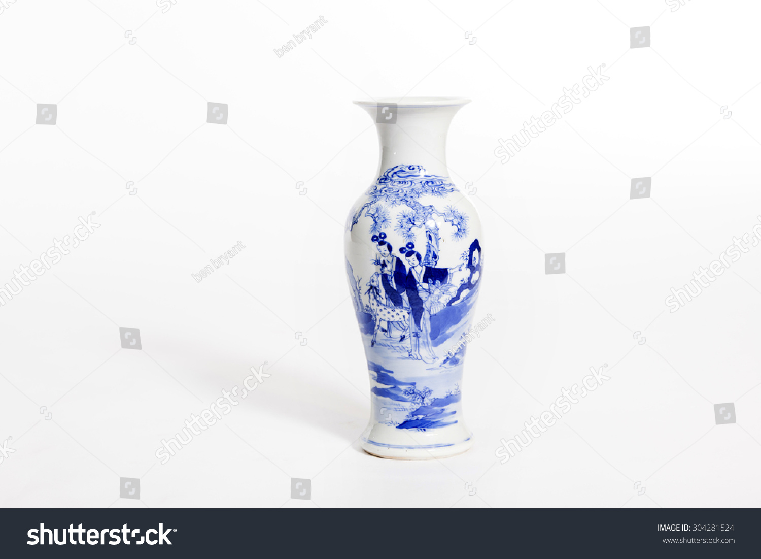 Beautiful chinese antique vase collector stock photo 304281524 beautiful chinese antique vase for collector reviewsmspy