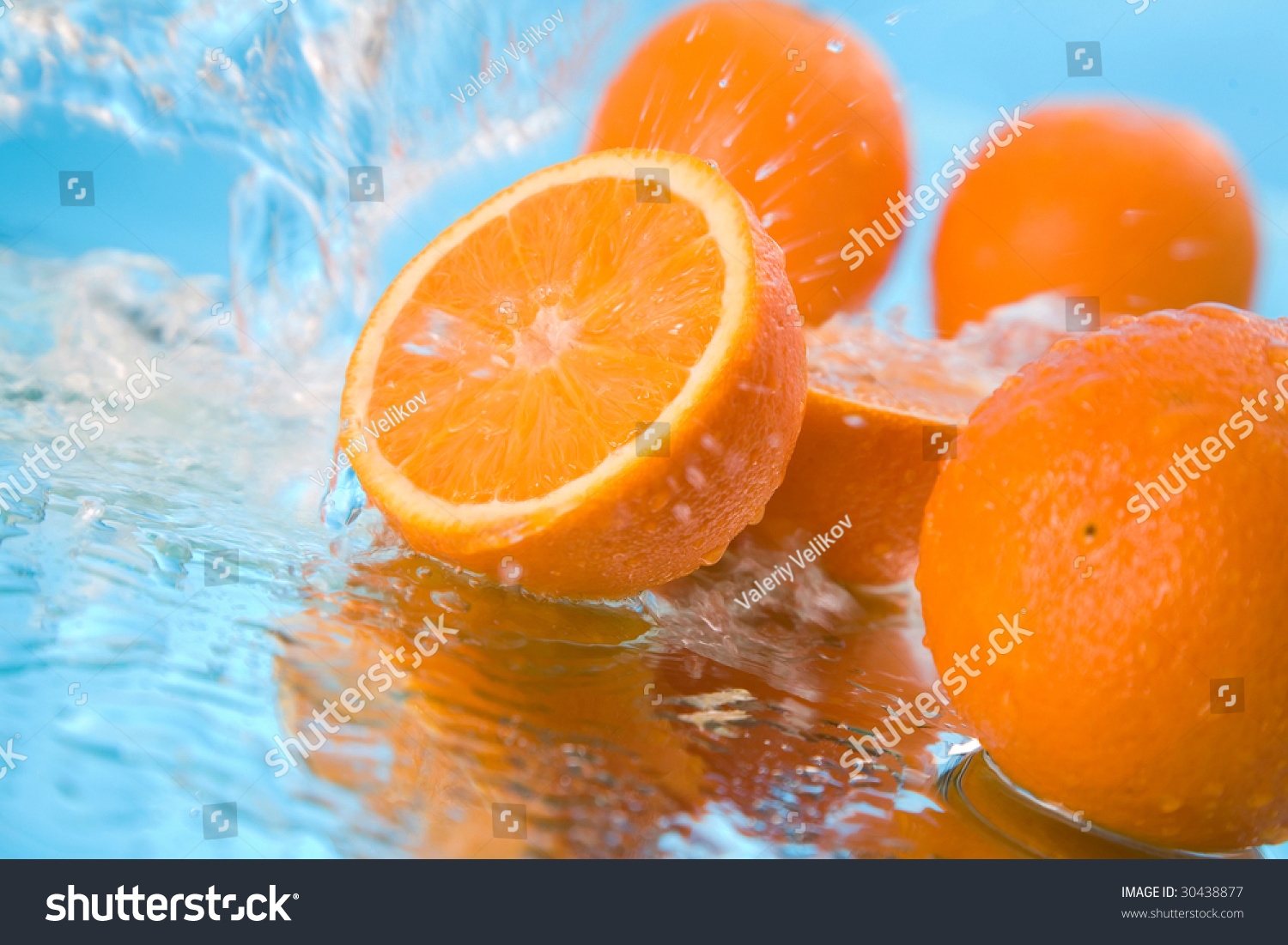 orange in water #30438877