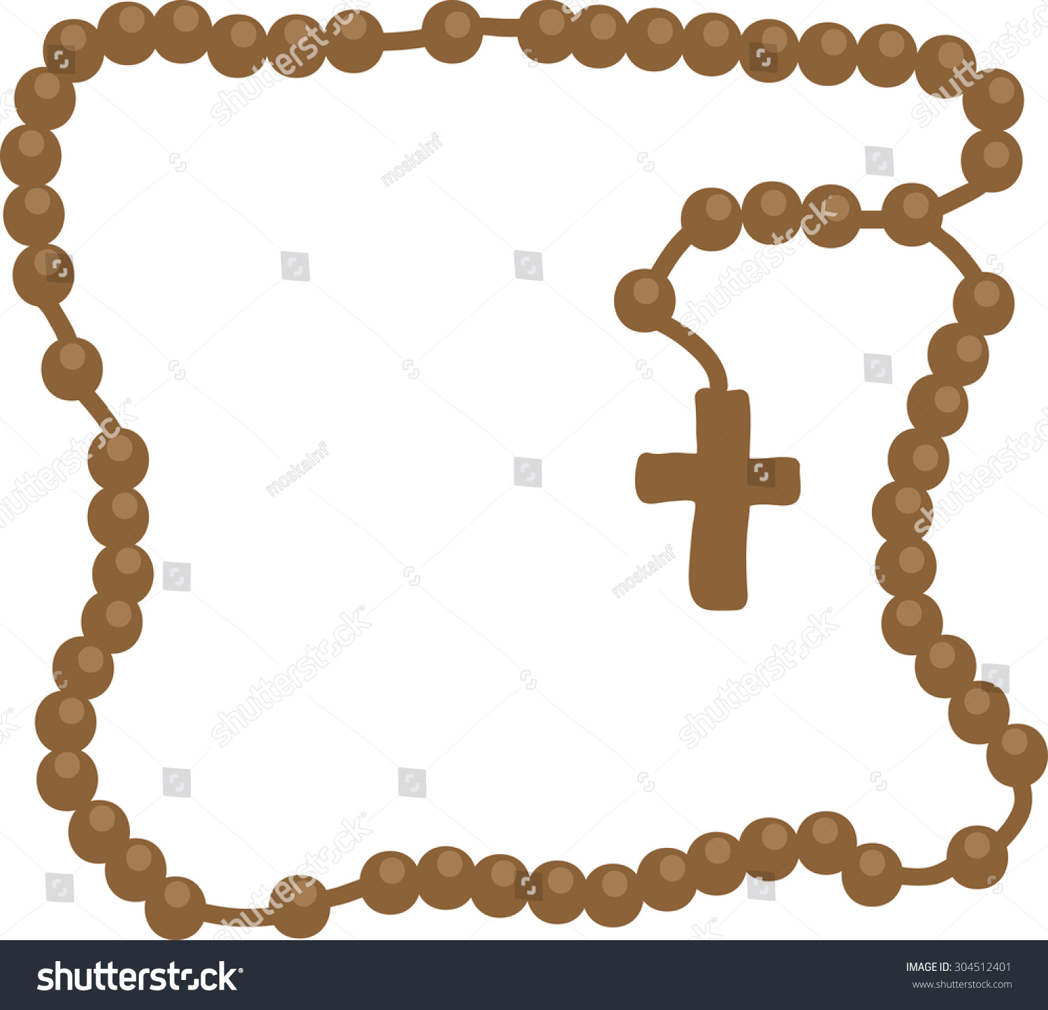 Royalty free holy rosary brown frame with rosary 304512401 holy rosary brown frame with rosary brown wooden catholic rosary beads religious symbols biocorpaavc