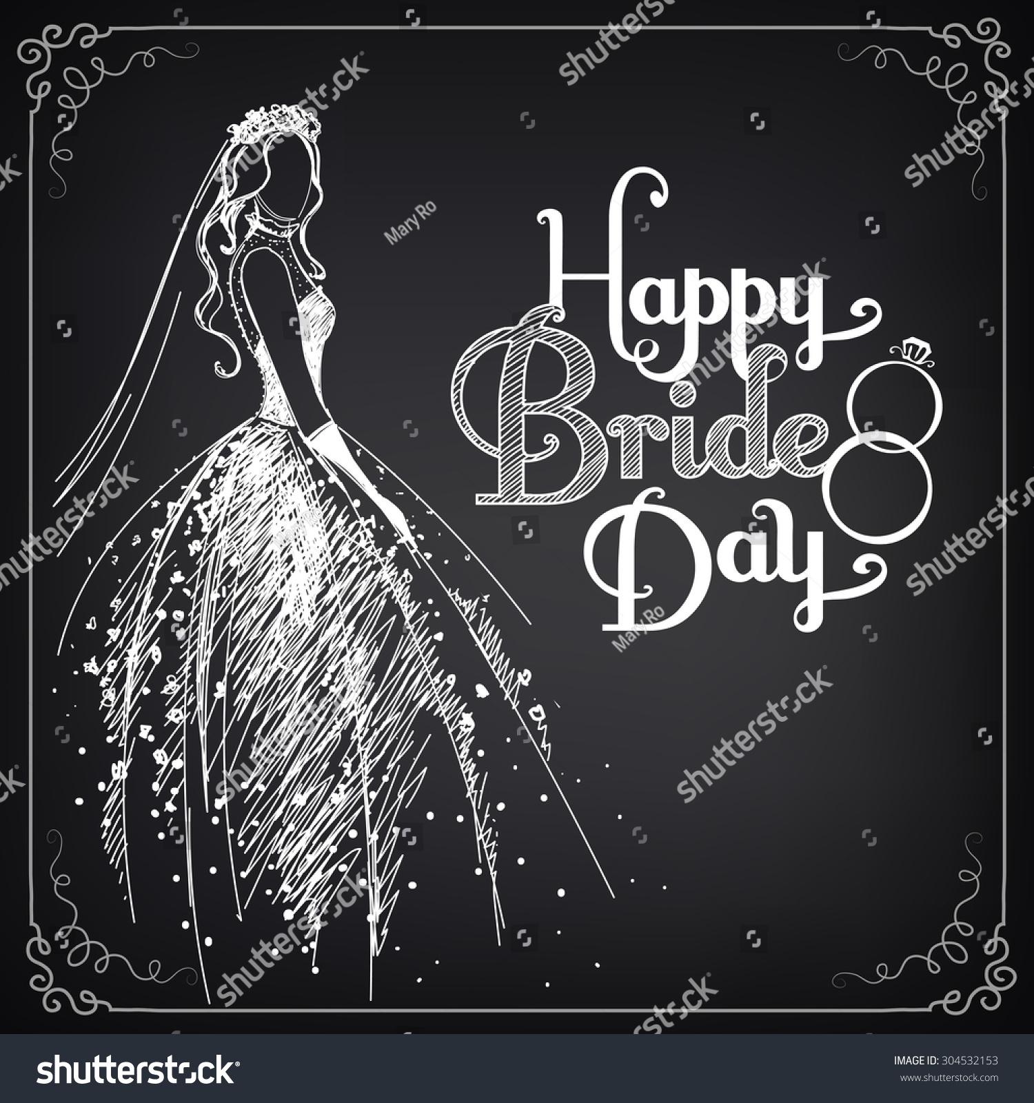wedding dress invitation template
