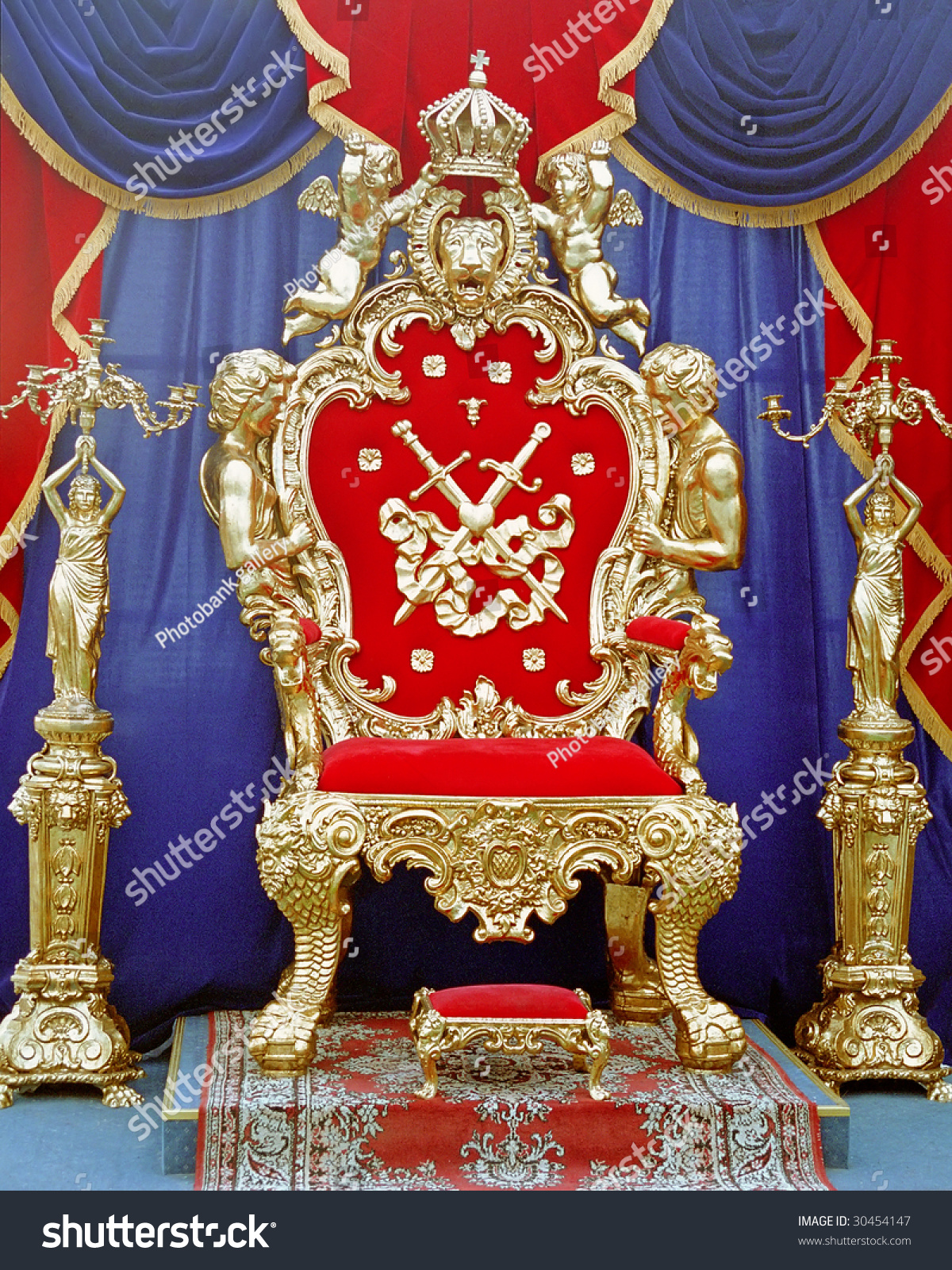 throne pictures king throne stock photo 30454147 shutterstock 5405