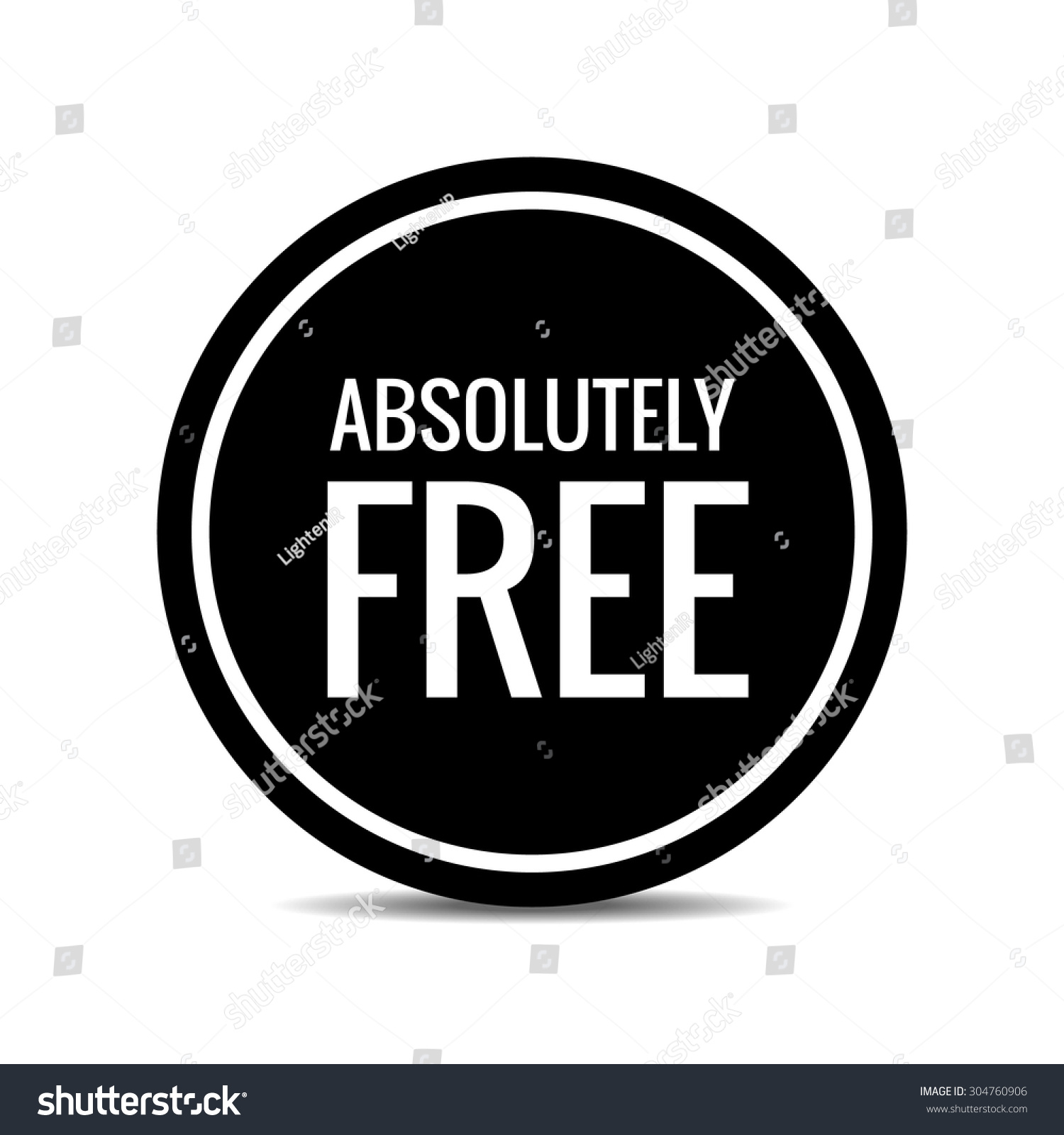 free free badge free stamp free stock vector 304760906 shutterstock